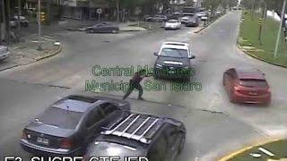 Cámaras de seguridad en San Isidro: Detuvieron a dos delincuentes thumbnail