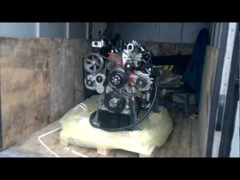 Двигатель Cummins ISF 3.8 в сборе на ГАЗ 33104 Валдай