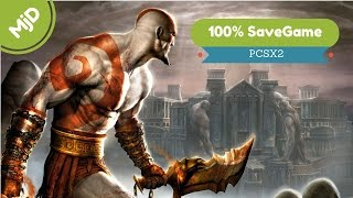 God of War 2 100% save game Everything is Unlocked - Download (MjD)