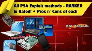 PS4 - All Exploit methods RANKED & Rated + Pros n