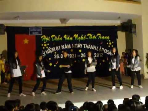 truong thpt bahon dance kienluong-kiengiang