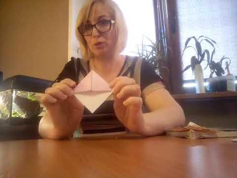 Волшебное оригами - закладки для книг и тетрадей