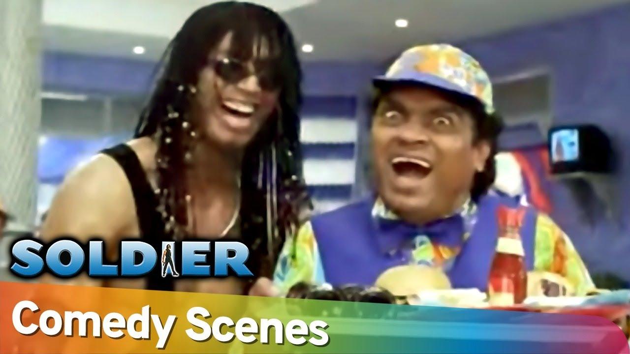 जोजो की हसी | Soldier Movie Scene | Best Comedy Scenes | Johny Lever - Bobby Lever - Preity Zinta