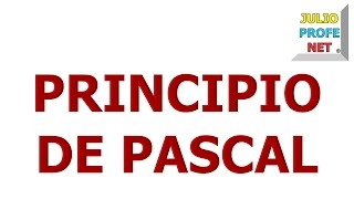 63. PRINCIPIO DE PASCAL