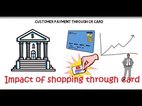 Debit and Credit Card Payment on shopping