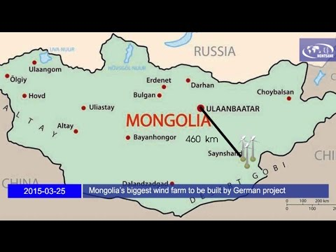 Mongolia's biggest wind farm to be built by German project developer