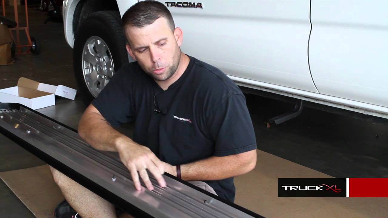 How to Install Ionic Factory Style Running Boards Bracket Kit 4075 at AutoCustoms.com - YouTube