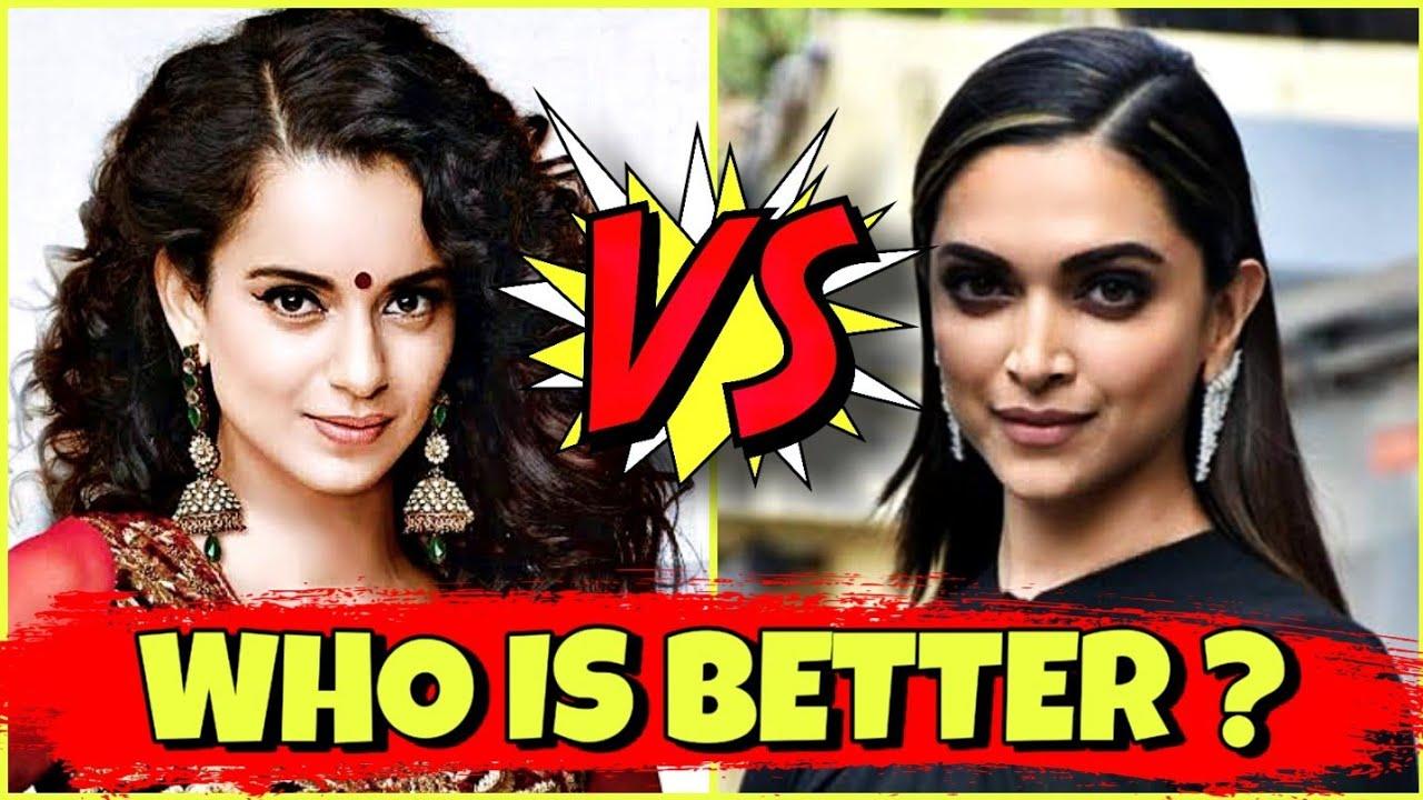 Kangana Ranaut V/S Deepika Padukone Comparison 2020 || Who ...
