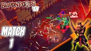 Bloodsports.TV PC Gameplay: Match 1 - Slayer / Amateur League - (Walkthrough)