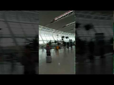 At Hefei international Airport