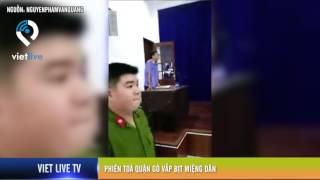 Phiên toà Quận Gò Vấp bịt miệng dân