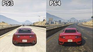 GTA 5 - PS4 vs PS3 Graphics (2018)