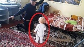 Bu Baba, Odanın İçinde Gizli Kamera Olduğundan Haberi Yoktu, Yaptığına İnanamayacksınız