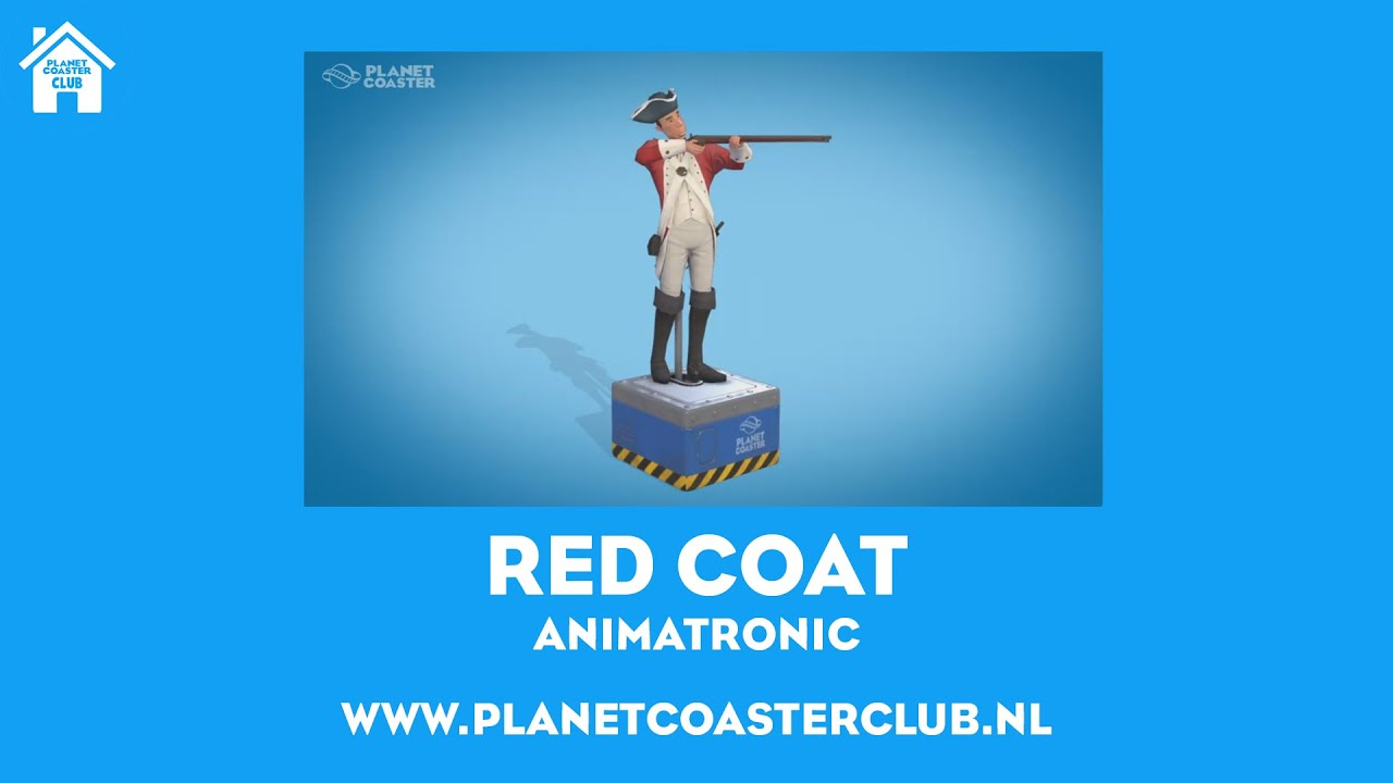Planet Coaster - Red Coat - YouTube