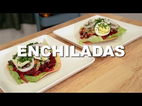 Recipes w/ Luis - Classic Guatemala (Enchiladas)
