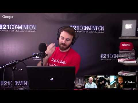 The Red Man Group on 21 Live Episode #23