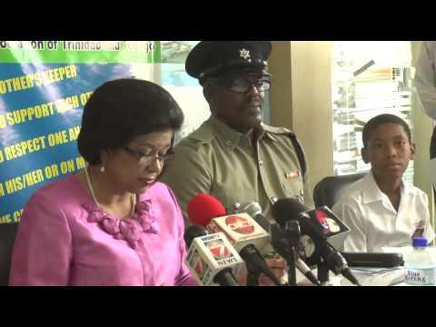 MP Carolyn Seepersad-Bachan Anti Bullying Campaign Launch - March 25.2014