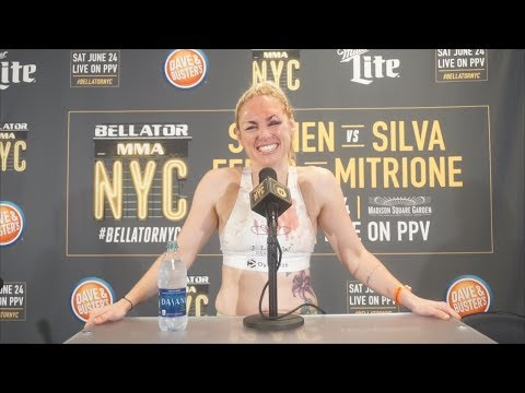 Boxing star Heather Hardy talks first pro-MMA victory at Bellator 180