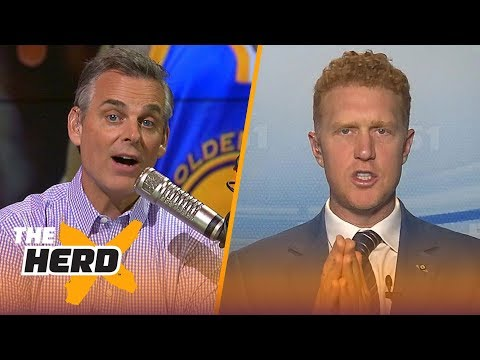Brian Scalabrine Discusses The NBA Finals, Curry's Standing In The League | NBA | THE HERD