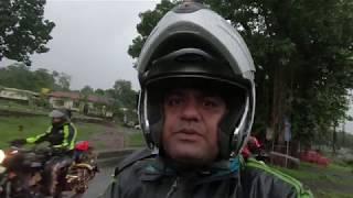 Ride to Beautiful Malshej Ghat In Heavy rain & Fog.