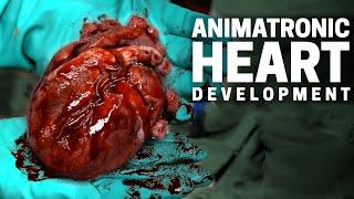 3D Printed Animatronic Heart Development Process