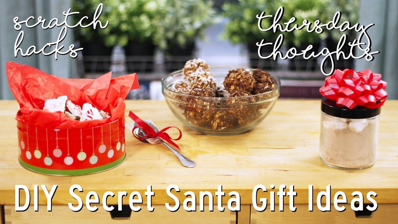 DIY Secret Santa Gift Ideas - Thursday Thoughts - YouTube