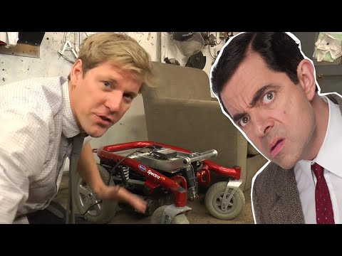 Mr Beans RC Armchair | Special Guest Colinfurze | Mr Bean Official