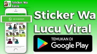 Download Aplikasi Sticker Wa Lucu Viral