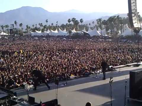 Megadeth  BIG 4 Indio CA 1