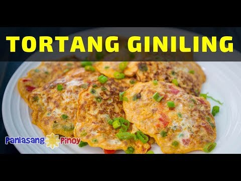 How To Cook Tortang Giniling Na Baboy (Ground Pork Omelet)