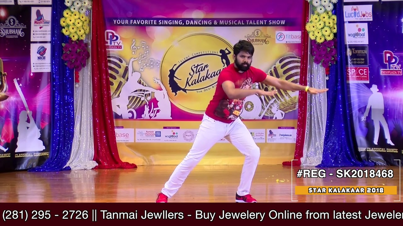 Registration NO - SK2018468 - Star Kalakaar 2018 Finals - Performance