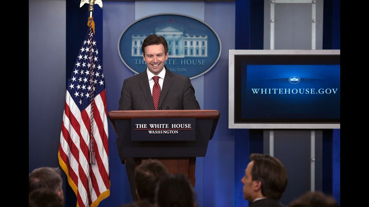 8d891353b16f 10/31/16: White House Press Briefing - YouTube