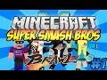 Minecraft Mini-Game Server: SUPER SMASH BROS BRAWL #1