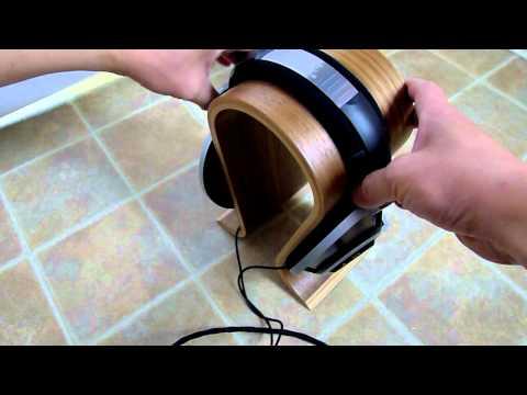 Genuine Sieveking Sound Omega Headphones Stand Unboxing
