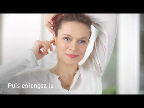 Mise en place des protections auditives en cire