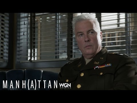 Manhattan: WIlliam Petersen Interview