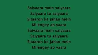 Saiyaara Ek Tha Tiger Lyrics HD 720p