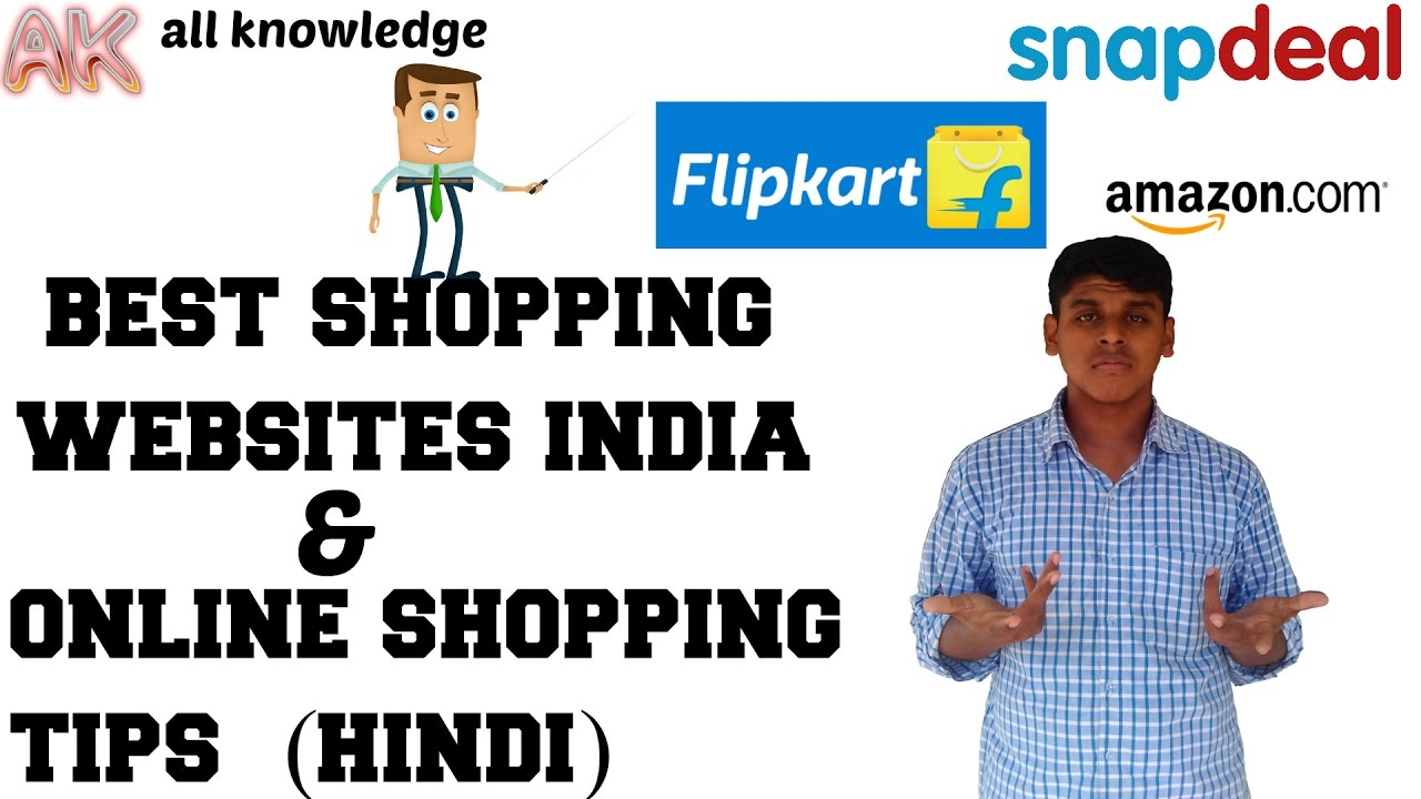 Online shopping tips best 3 shopping websites india in for Best online buying sites