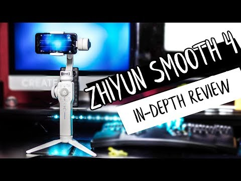 Zhiyun SMOOTH 4 Review In-depth // Test Footage!