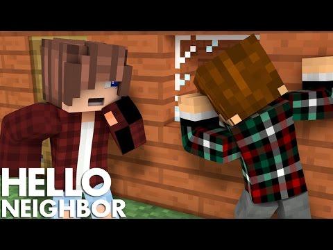 Minecraft Hello Neighbor - He Has A Secret Second House (Minecraft Roleplay)