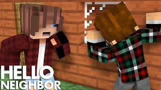 Minecraft Hello Neighbor - He Has A Secret Second House (Minecraft Roleplay)