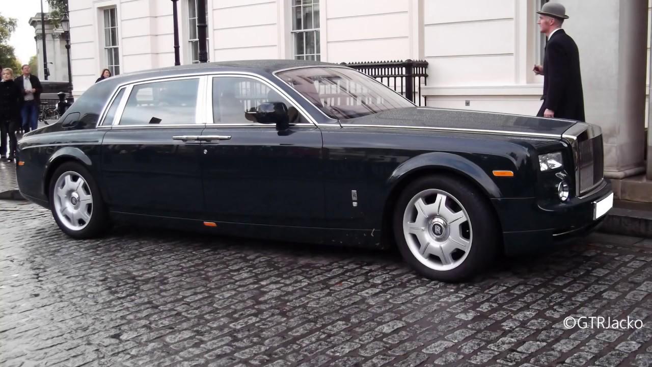 Dark Green Rolls-Royce Phantom EWB