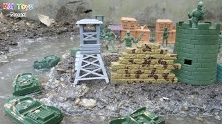 Toys military base playset & Toy Soldiers Army Men