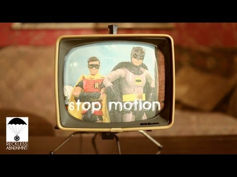 Batman Stop Motion Intro- 1966 Theme ᴴᴰ