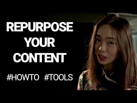 Tools + Ways to repurpose content (How to repurpose YouTube videos, audio + more) | #ChiaExplains