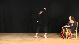Explicación de baile por martinete: Letra completa