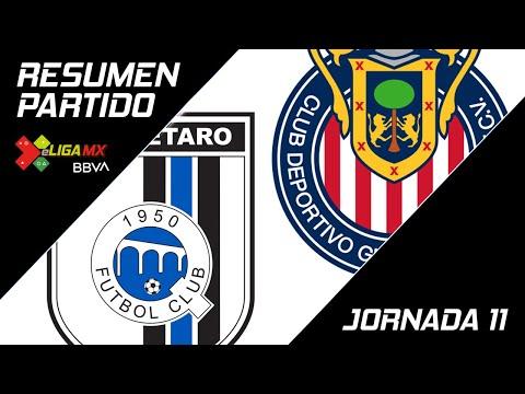 Resumen | Querétaro 0 - 2 Guadalajara | eLiga MX - Clausura 2020 - Jornada 11 | LIGA BBVA MX