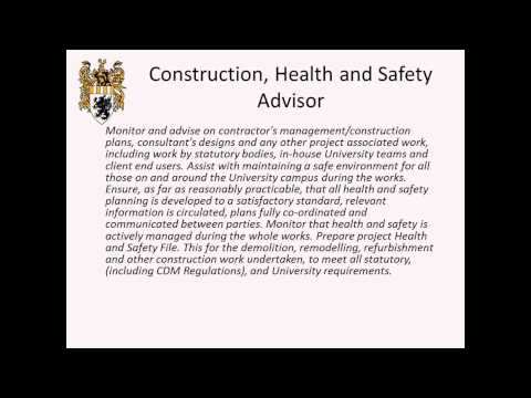 Oxford Brookes University Build Talk 10 (Health & Safety -- John Heath and Tim McGill)