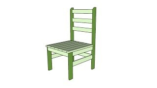 Farm Chair Plans