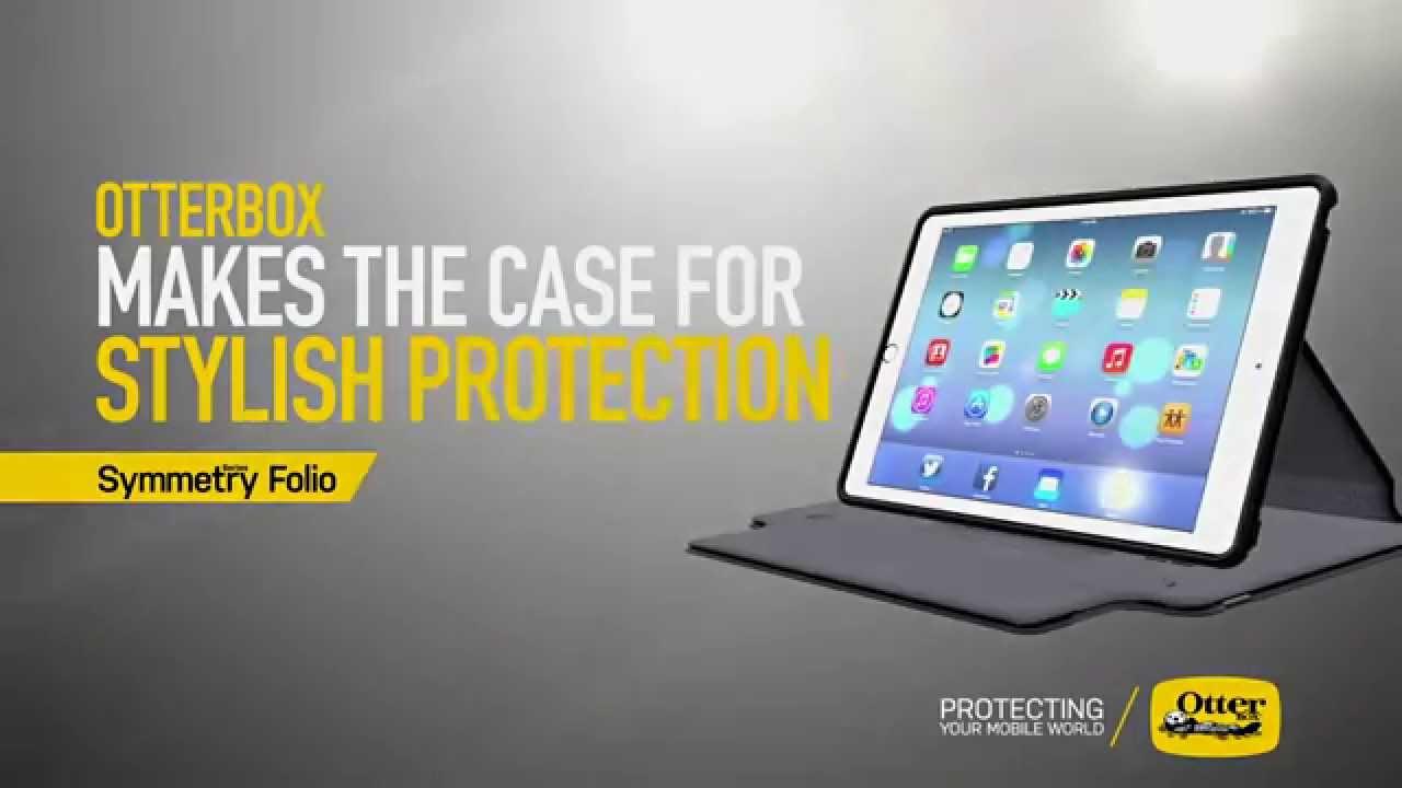 best cheap 08687 1ebb3 Symmetry Series Folio Case for iPad Air 2 & iPad mini 3 | OtterBox